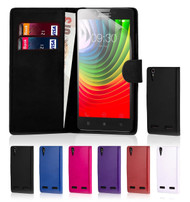 32nd faux leather book wallet Lenovo Vibe K5 Plus Case in a range of great colours.