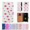 32nd faux leather floral design book wallet LG G5 Case.