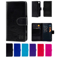 32nd synthetic leather book wallet Sony Xperia X Compact Case in a range of colours.