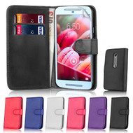 32nd Shop Book wallet Motorola Moto G4 Plus Case features card slots for storing bank cards and notes. Available in 6 colours