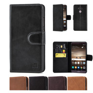 32nd premium Italian leather book wallet Huawei Mate 9 Case.
