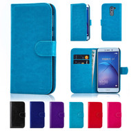 32nd synthetic leather book wallet Huawei Honor 6X Case in a range of great colours.
