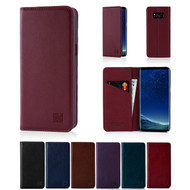 32nd real leather classic wallet Samsung Galaxy S8 Plus Case in a range of colours.