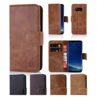 32nd premium Italian leather book wallet Samsung Galaxy S8 Plus Case.