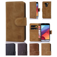 32nd premium Italian leather book wallet LG G6 Case.