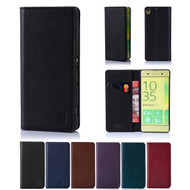 32nd real leather classic wallet Sony Xperia XA Case in a range of colours.