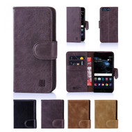 32nd premium Italian leather book wallet Huawei Ascend P10 Plus Case.