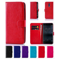 32nd synthetic leather book wallet Nokia 5 Case.