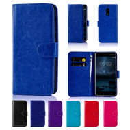 32nd synthetic leather book wallet Nokia 6 Case.