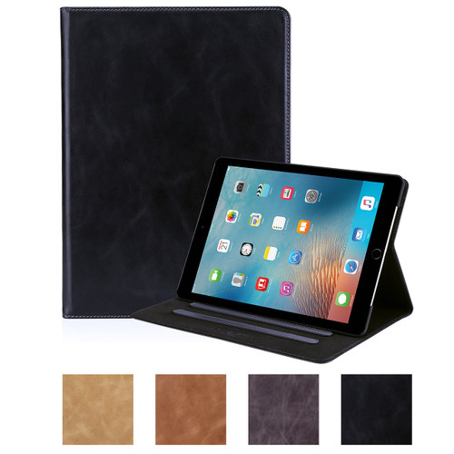 32nd premium Italian leather book wallet Apple iPad (2017) Case.