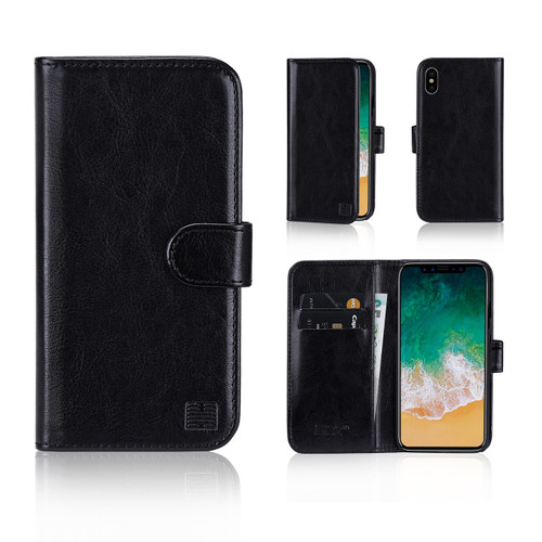 32nd synthetic leather book wallet Apple iPhone X Case in a range of great colours.