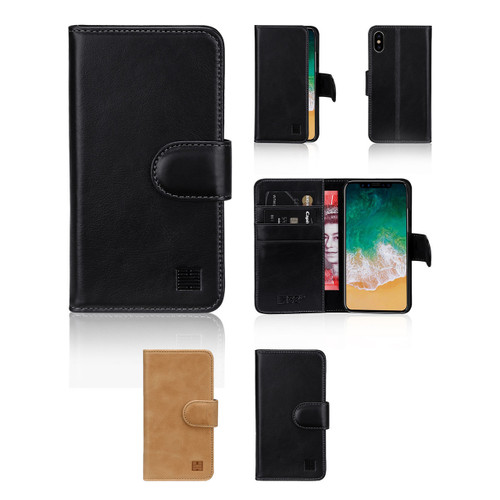 32nd premium Italian leather book wallet Apple iPhone X Case.