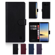 32nd real leather classic wallet Samsung Galaxy Note 8 Case in a range of colours.