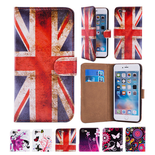 32nd synthetic leather design book wallet Apple iPhone 8 Case.
