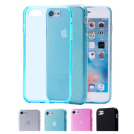 32nd clear gel Apple iPhone 8 Case in a range of colours.
