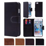 32nd premium Italian leather book wallet Apple iPhone 8 Case.