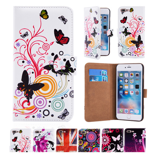 32nd synthetic leather design book wallet Apple iPhone 8 Plus Case.