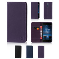 32nd real leather classic wallet Nokia 8 Case in a range of fantastic colours.