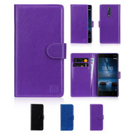 32nd synthetic leather book wallet Nokia 3 Case.