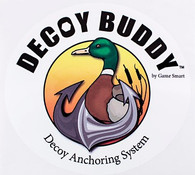"5"" Round Decoy Buddy Sticker"