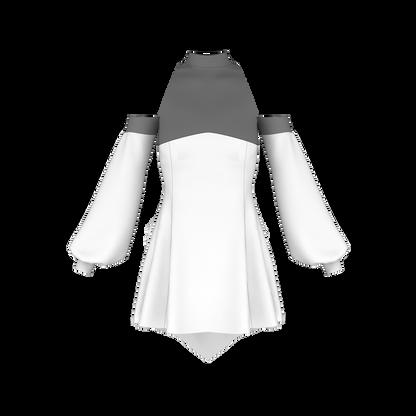 Bare Shoulder Halter Angel Pattern 800-851