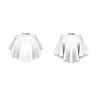 C-2 & C-1 Traditional Panty Skirt Pattern 200-M018