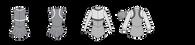 Inset jacket Aline Pattern 400-M020