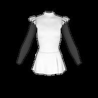 ice skate dress pattern, leotard pattern, twirler leo pattern, gymnastics leo patterns, dance leo pattern, swimmers, roller skaters,  for Lycra sewing, skatewear design system