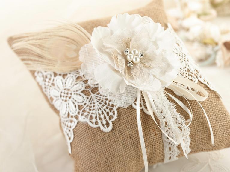 Wedding Ring Pillows And Ring Pillow Alternatives Gems
