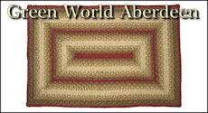 Green World Aberdeen Braided Collection