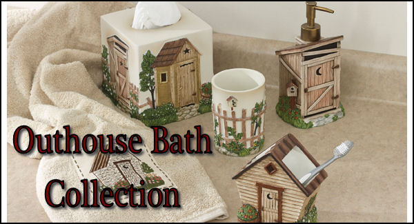 outhouse bathroom accessories  gerryt, Bathroom decor