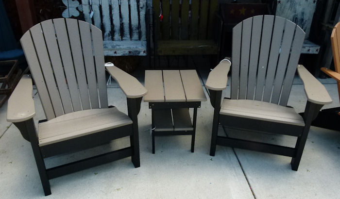 Vinyl Adirondack Lawn Furniture