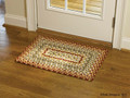 """MILL VILLAGE BRAIDED RECTANGLE RUG  20"""" X 30"""""""
