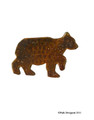 979-75B - BEAR NAPKIN RING