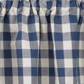 York Blue Curtain Swatch