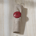 Button Napkin Ring- Round, Red