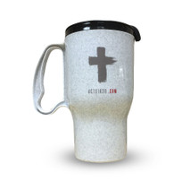 Evangelistic Travel Mug - Grey