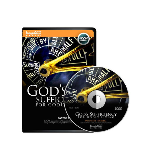 God's Sufficiency for Godly Living DVD Cover