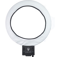Diva Ring Light Super Nova with Diffusion Cloth Attached Main View