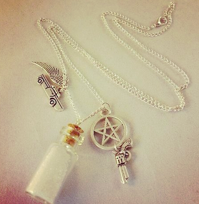 Supernatural Inspired Pendant Necklace