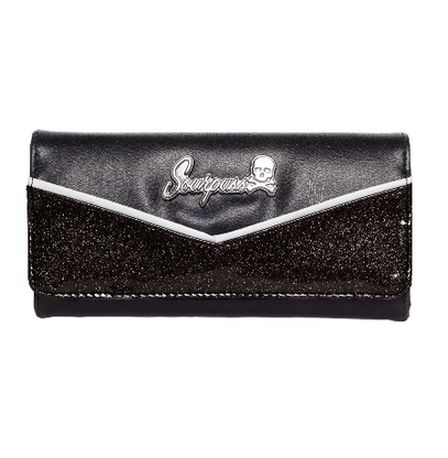 Sourpuss Monroe Wallet - Black - Cobalt Heights
