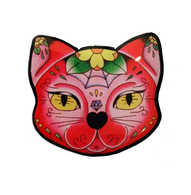 Jubly Umph Muerte Kitty Brooch - Cobalt Heights