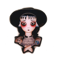 Jubly Umph Lydia Brooch - Cobalt Heights