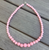 Gumball Bead Necklace 10 Colours Available - Baby Pink - Cobalt Heights