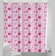 Sourpuss Zombie Bunnies Shower Curtain - Cobalt Heights