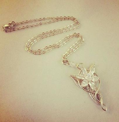 Evenstar Inspired Necklace