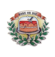 Jubly Umph Bake Or Die Brooch - Cobalt Heights