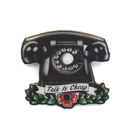 Jubly Umph Vintage Telephone Brooch - Cobalt Heights