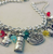 Deluxe Alice In Wonderland Inspired Charm Bracelet - 2 - Cobalt Heights