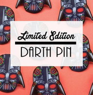 Jubly Umph Limited Edition Darth Brooch - Cobalt Heights